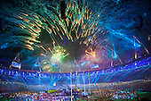 Paralympic closing ceremony, London 2012