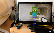 Zombie in Minecraft Video Game - Apr 2015.
