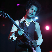 Manchester, TN, June 11, 2005; The Mars Volta performs during The Bonnaroo 2005 Arts and Music Festival. Mandatory Credit: Photo by Bryan Rinnert