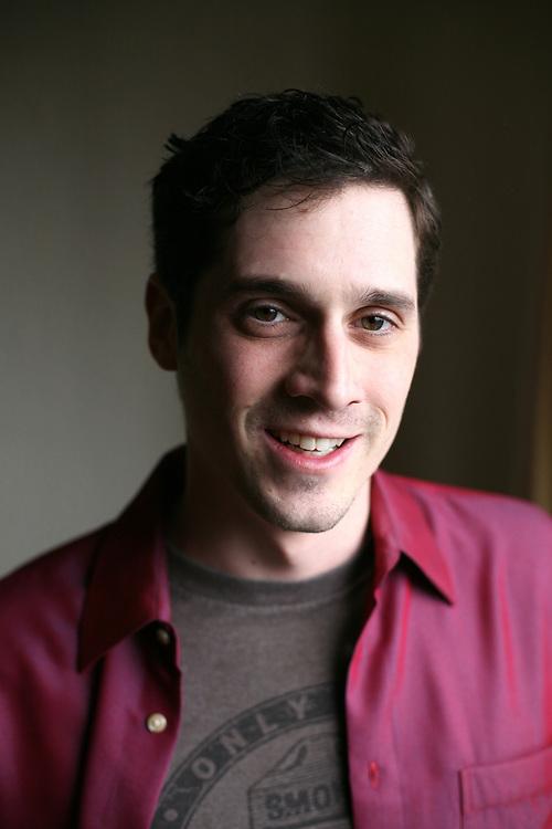 Lawyer and Actor Adam D. Scheinman in Brooklyn, New York. 2011