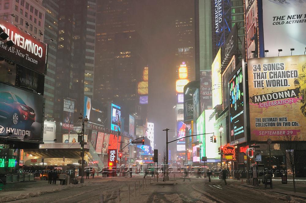 Winter in Manhattan