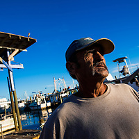 10/28/14 5:51:31 PM -- Cortez, FL, U.S.A  -- John Yates, a former commercial fisherman who was convicted under a major federal document-shredding statute for throwing undersized grouper overboard.  --    Photo by Chip J Litherland, Freelance