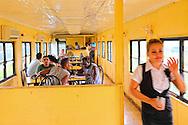 Restaurant in a train car in Ciego de Avila, Cuba.
