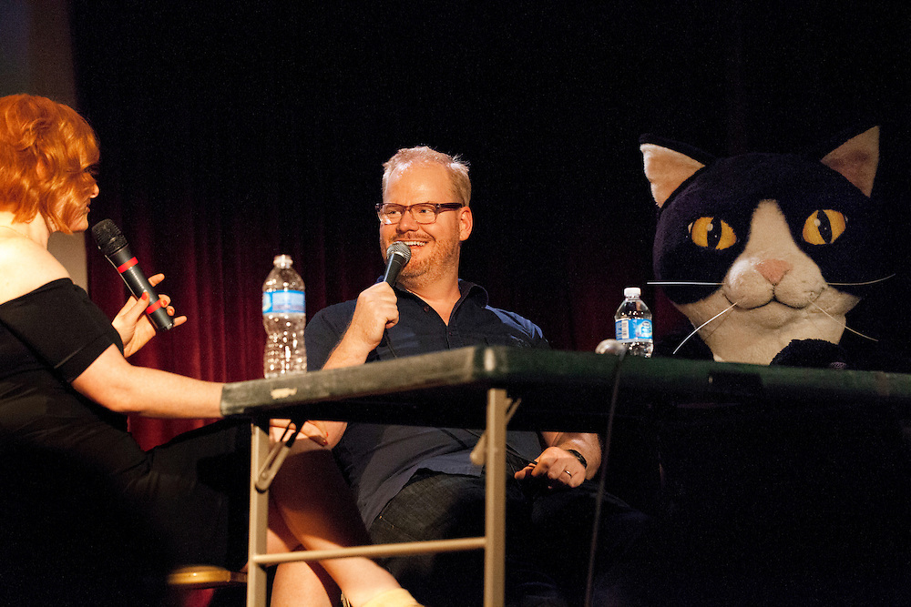 Julie Klauser, Jim Gaffigan, Jimmy Jazz - How Was Your Week Live - The Bell House, Brooklyn - June 27, 2012
