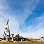 The Permian Basin Petroleum Museum in Lubbock is a great place to learn about the history of the oil industry.  Displays on the grounds of the museum include modern equipment as well as equipment used in the early 20th century.