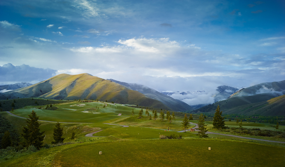The White Cloud Nine, Sun Valley Idaho