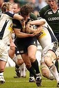 Reading, Berks, ENGLAND, 15.04.2006, Declan Danaher, going for the gap.Guinness Premiership, London Irish vs Leed Tykes, Madejski Stadium,  © Peter Spurrier/Intersport-images.com.
