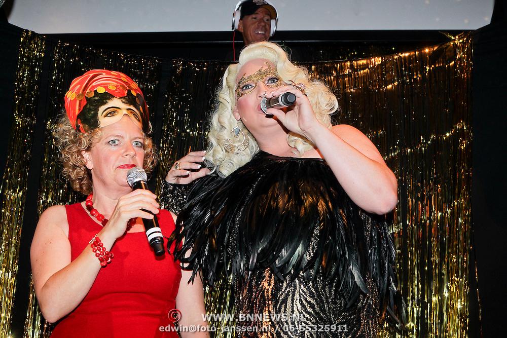 NLD/Amsterdam/20111001 - Verjaardag Mayday 2011, Brigitte Kaandorp en Mayday