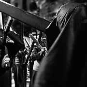 Semana Santa, Sevilla, Spain. Brotherhoods of the catholic Church in Spain, celebrates the passion of Jesus Christ during the holy Week in Sevilla, Spain.