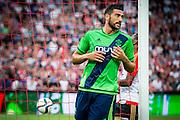 EINDHOVEN - Feyenoord - Southampton FC , Voetbal , Voorbereiding , Oefenwedstrijd , Seizoen 2015/2016 , Stadion de Kuip , 23-07-2015 , Southampton speler Graziano Pelle scoort de 0-1