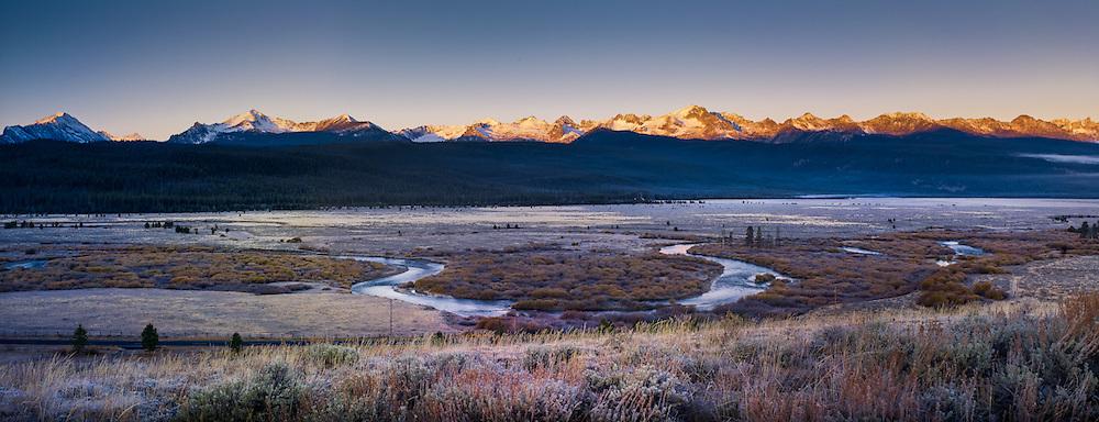 Sawtooth Valley, near Sun Valley Idaho