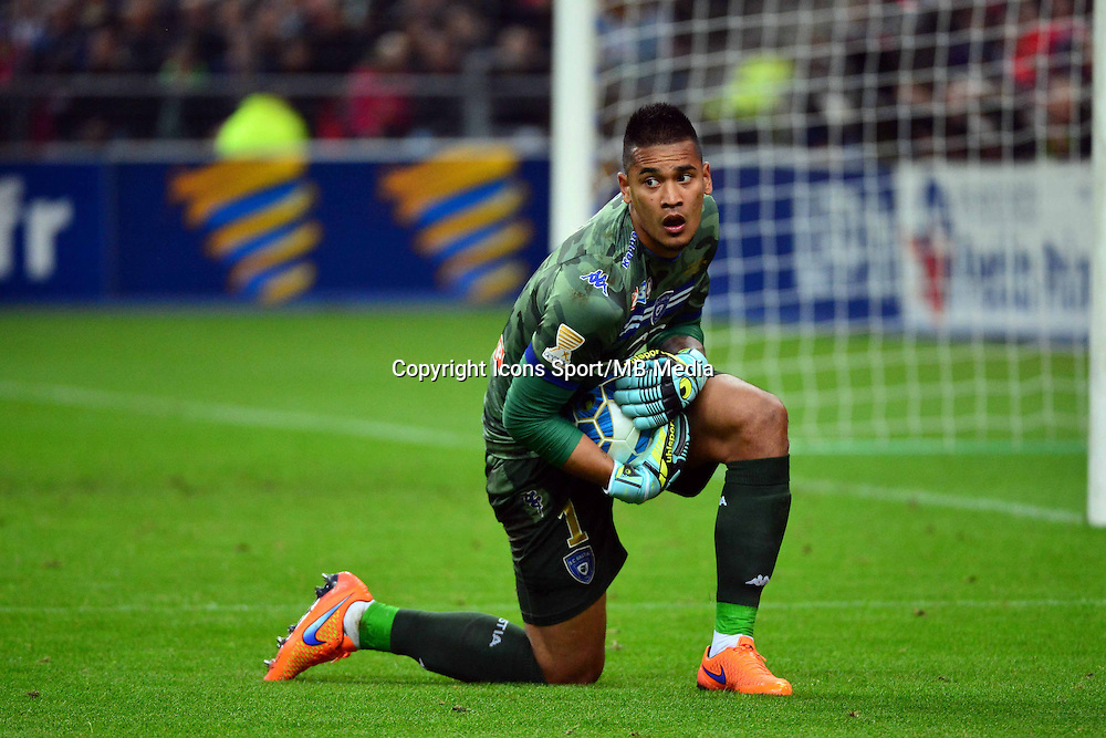 Alphonse AREOLA    - 11.04.2015 -  Bastia / PSG - Finale de la Coupe de la Ligue 2015<br />