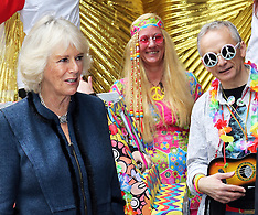 DEC 03 2013 Duchess of Cornwall at ICAP charity day