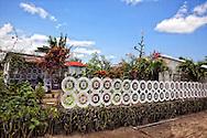 Fence in Jesus Menendez, Las Tunas, Cuba.