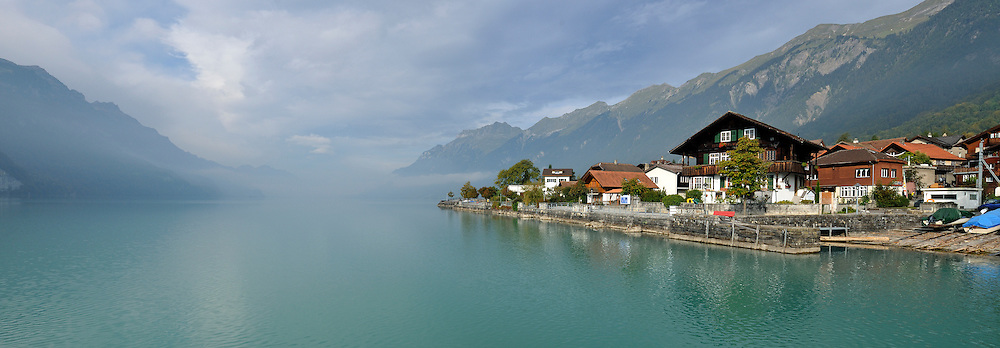 The best view of the lake Brienz (Brienzersee)
