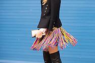 Fringe Skirt, Outside Delpozo FW2016