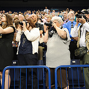 Gonzaga friends and family photograph loved ones during School of Law Commencement.