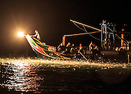 Sulfur fire fishing. This traditional practice of fishing by attracting the fish to a sulfur flame is dying out with only 3-4 boats still practicing this method of fishing.