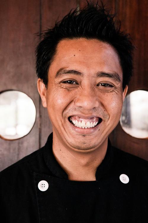 Chef on Alila Purnama.