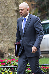 Downing Street, London, March 8th 2016. State for Business Secretary Sajid Javid arrives for the weekly UK cabinet meeting at Downing Street. &copy;Paul Davey<br /> FOR LICENCING CONTACT: Paul Davey +44 (0) 7966 016 296 paul@pauldaveycreative.co.uk