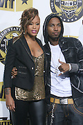 l to r: Eve and Juelz Santana at the Fifth Annual VH1's  HipHop Honors held at Hammerstein Ballroom on October 2, 2008..