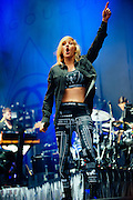 Ellie Goulding performing live at the Rock A Field Festival in Roeser, Luxembourg on June 28, 2014