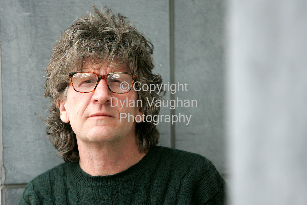 13/5/2005.Australian Author Leon carmen pictured in Kilkenny..Picture Dylan Vaughan