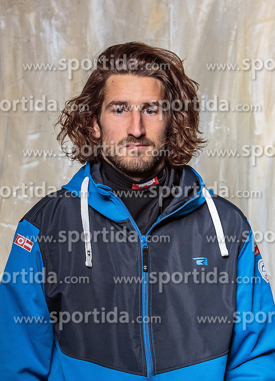 08.10.2016, Olympia Eisstadion, Innsbruck, AUT, OeSV Einkleidung Winterkollektion, Portraits 2016, im Bild Lukas Brucic, Freestyle // during the Outfitting of the Ski Austria Winter Collection and official Portrait Photoshooting at the Olympia Eisstadion in Innsbruck, Austria on 2016/10/08. EXPA Pictures © 2016, PhotoCredit: EXPA/ JFK