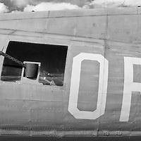 B-17 and B-24 visiting Santa Fe Airport