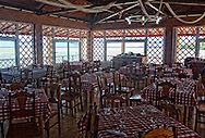 Restaurant on Laguna de la Leche, Moron, Ciego de Avila, Cuba.