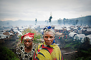 People facing their reality with dignity. Displaced people camp, Kitchanga.