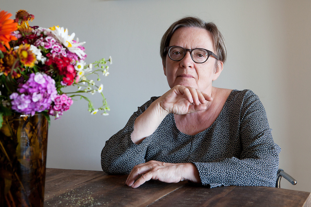 """Warsaw, Poland, June 22, 2013. Agnieszka Holland, renowned Polish filmmaker and screenwriter. Among her movies: """"Europa, Europa"""", """"The secret garden"""", and the latest """"In darkness""""."""