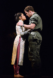 The new production of Miss Saigon photocall at The Prince Edward Theatre, London on Monday 19 May 2014