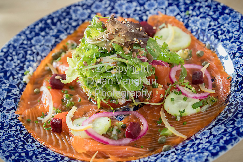 24-6-16<br /> <br /> Duncan smoked sea trout at The STEF HANS in Thurles Co Tipperary.