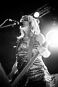 Sonic Youth perform on October 4, 2010 at the Ogden Theater in Denver, Colorado.