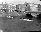 1960 - Canoeing on the River Liffey