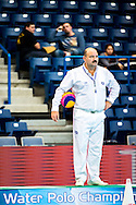 Mark KOGANOV AZE Referee<br /> LEN European Water Polo Championships 2016<br /> Women POR - TUR Portugal (White) Vs Turkey (Blue)<br /> Kombank Arena, Belgrade, Serbia <br /> Day09  18-01-2016<br /> Photo G. Scala/Insidefoto/Deepbluemedia