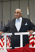 Congressman Charles Rangel at the Pre-Election party hosted by Congressman Charles Rangel held on the grounds of The Adam Clayton Powell State Office Building in Harlem on Election night, November 4, 2008..Democratic Presidential Candidate Barack Obama is declared victor and President-Elect as the 44th U.S. President making him the first African-American President in its 225 year history.