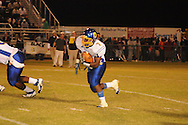 Oxford High's Jarquis Adams (7) runs vs. New Hope in New Hope, Miss. on Friday, September 30, 2011. New Hope won 43-22.
