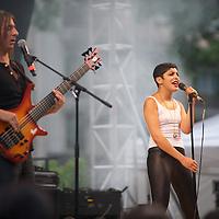 carmen maria vega, paris fete de la musique, juin 2011.