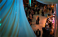 Attendees dancing during the Frostiball Benefit for the Arts at the Overture Center, Saturday, January 31, 2015.