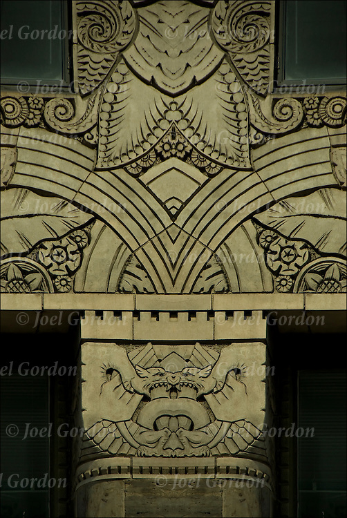 Chanin building art deco reliefs joel gordon photography - Mh deco ...