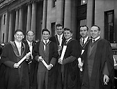 1960 - Conferring of Degrees at University College Dublin, U.C.D.