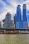 Donald Trump's Riverside South, West Side Highway, abandoned pier, Manhattan, New York City, New York, USA