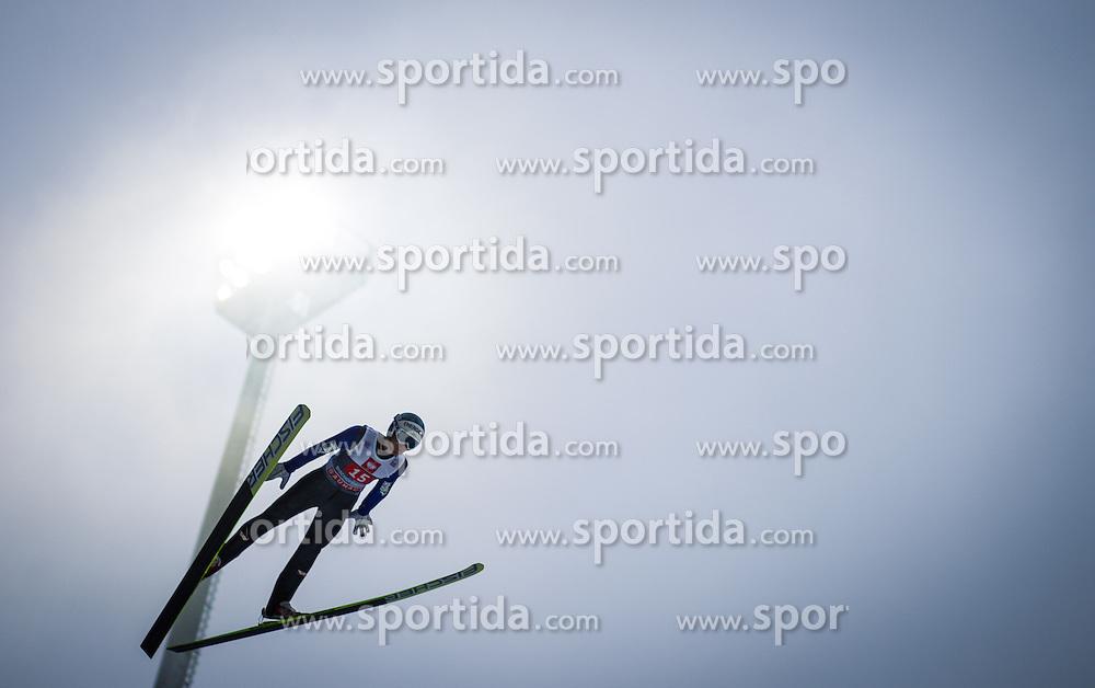 06.01.2013, Paul Ausserleitner Schanze, Bischofshofen, AUT, FIS Ski Sprung Weltcup, 61. Vierschanzentournee, Training, im Bild Michael Hayboeck (AUT) // Michael Hayboeck of Austria during practice Jump of 61th Four Hills Tournament of FIS Ski Jumping World Cup at the Paul Ausserleitner Schanze, Bischofshofen, Austria on 2013/01/06. EXPA Pictures © 2012, PhotoCredit: EXPA/ Juergen Feichter