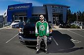 Players visit Jenner Chevrolet Buick GMC