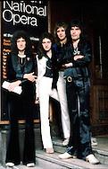 Queen 1976 Brian May, John Deacon, Roger Taylor and Freddie Mercury