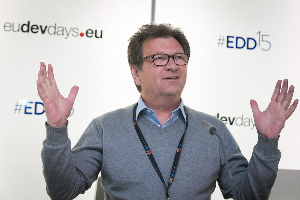 04 June 2015 - Belgium - Brussels - European Development Days - EDD - Growth - Financing the SWITCH to green SMEs across Asia , Africa and the Mediterranean - Leo Soldaat , Senior Advisor , Financial Services and Green Entrepreneurship , Humanist Institute for Co-operation with Developing Countries (HIVOS) © European Union