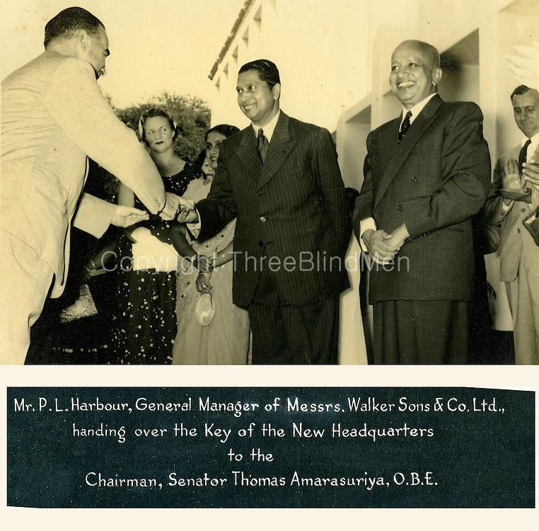 Ceylon Planters Association<br /> Thomas Amarasuriya