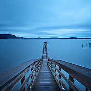 Jetty on Orcas Island, San Juan Islands, Washington